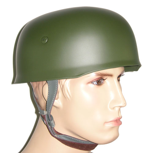 WW2 German Luftwaffe FJ Paratrooper M38 Steel Helmet Green