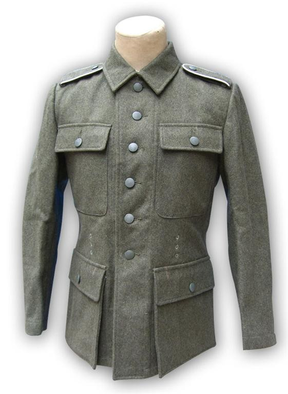 WW2 German M43 Army Field Tunic Jacket Including Trousers