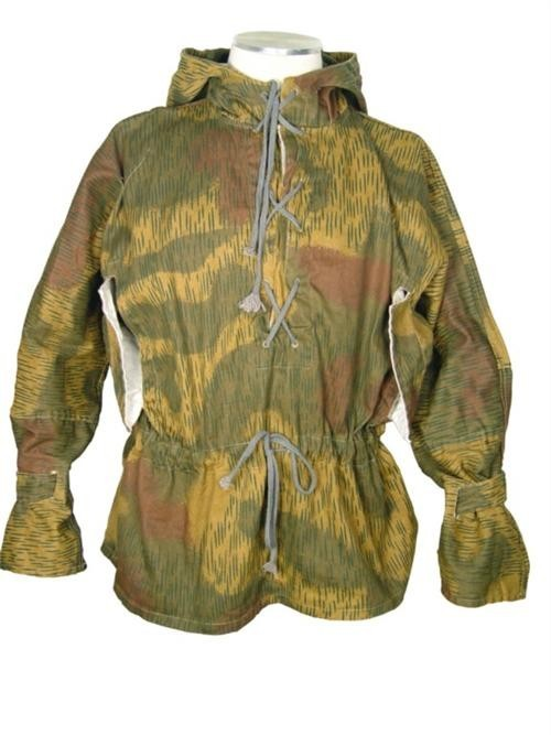 WW2 German Wehrmacht Pullover Sniper Water/Tan Smock
