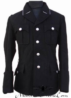 WW2 German M32 Black Officer Tunic Including Breeches