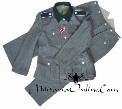 WW2 German M36 Field Tunic Unform Including Trousers