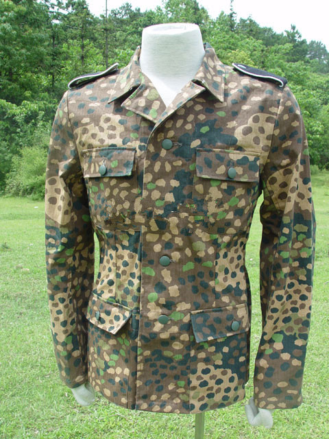 WW2 German Dot44 M43 Field Tunic With Trousers